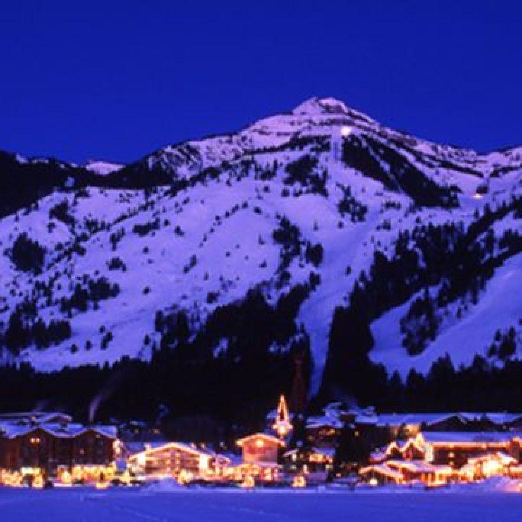 Jackson Hole, Wyoming Christmas