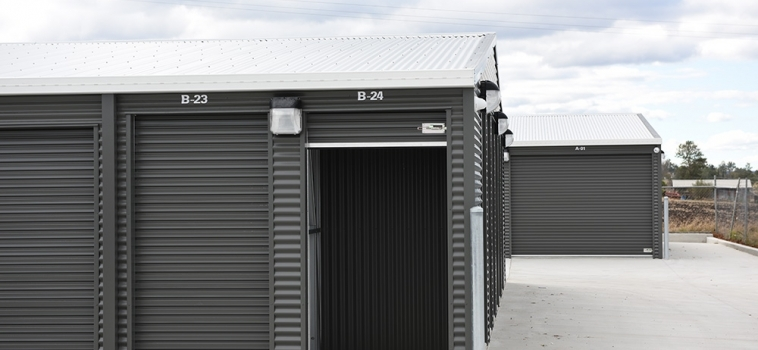 CHOOSING THE RIGHT SIZED STORAGE SPACE