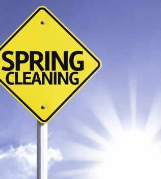 Spring Cleaning Tips from Amberley Self Storage